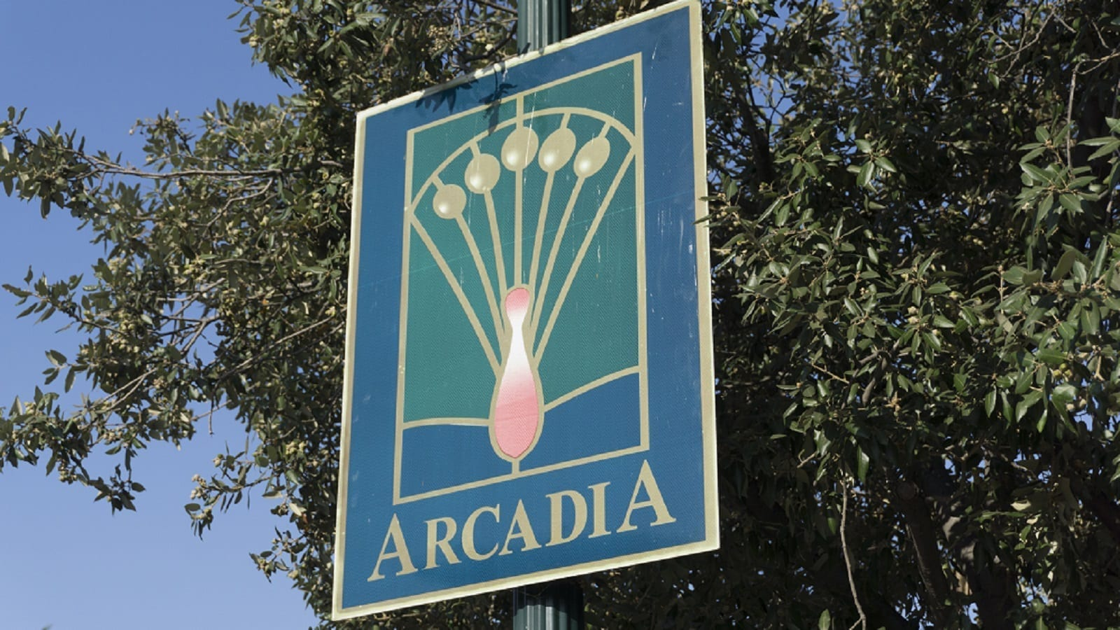 Arcadia, California Sign