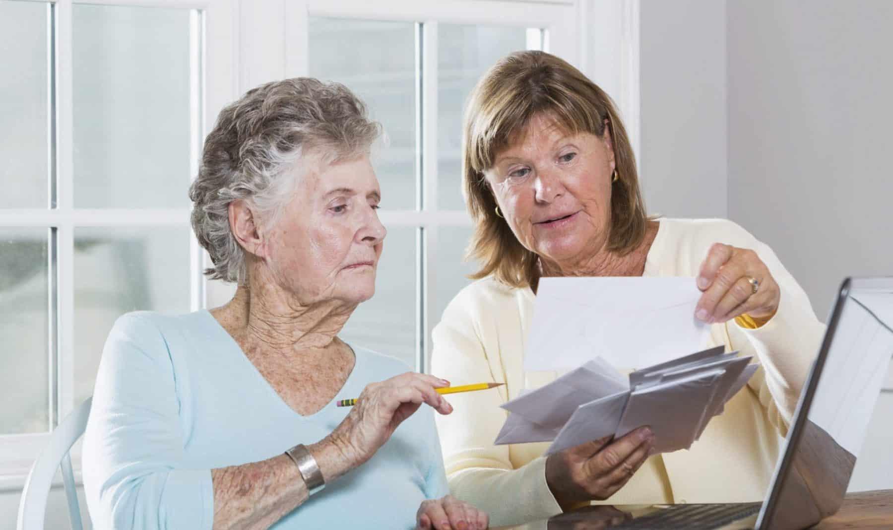 Social Security Paperwork Stock Photo