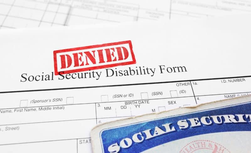 denied social security disability claim