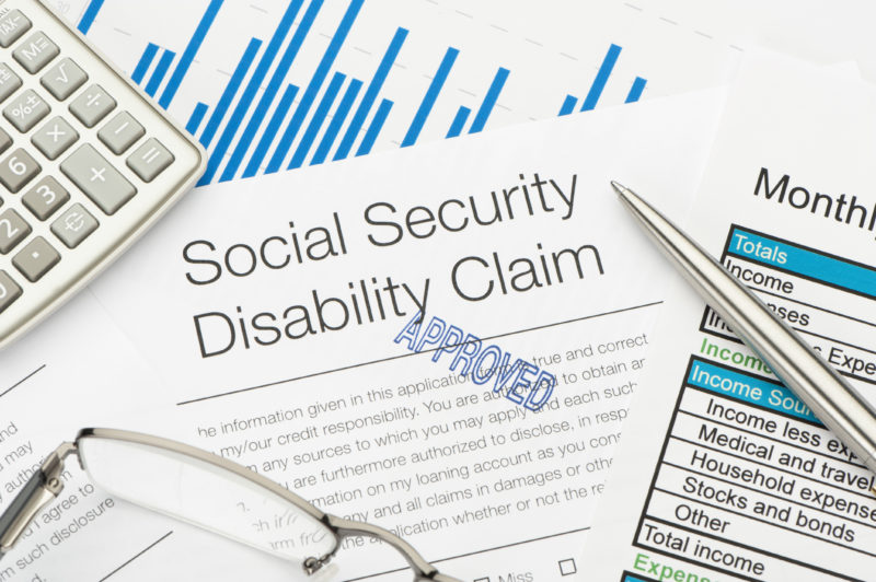 pproved social security disability claim